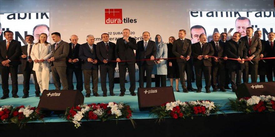 Cumhurbaşkanı Erdoğan: Bu güzel ülkemizde taş üstüne taş koyanın başımız üstünde yeri var