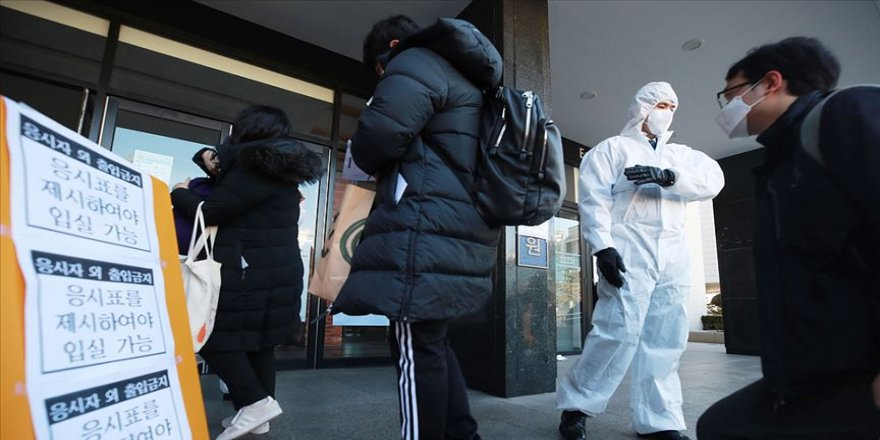 Güney Kore'de Kovid-19 nedeniyle alarm seviyesi en yüksek düzeye çıkarıldı