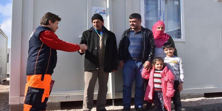 Elazığ'daki depremzedeler konteyner kentlere yerleşiyor