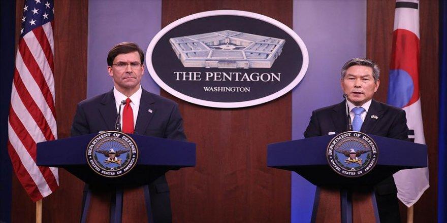 ABD Kovid-19 kaygısıyla Güney Kore'yle ortak askeri eğitimleri azaltıyor