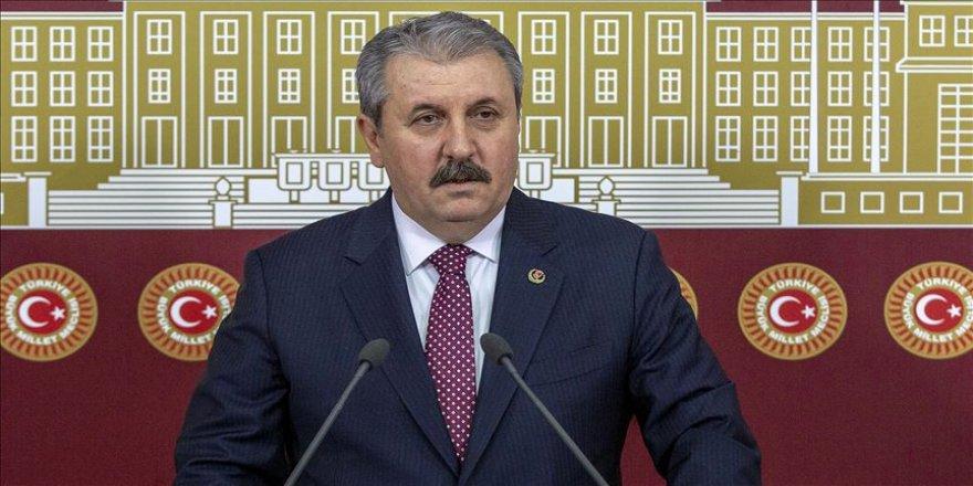 Destici'den savcılara 'HDP'nin kapatılması için, var olan yasayı işletin' çağrısı