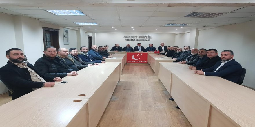 Saadet Partisi Gebze,Erbakan Hocayı anma ve anlama programı tertip ediyor