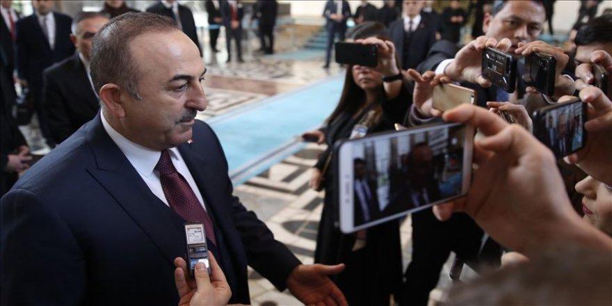 Bakan Çavuşoğlu, Rus heyetinin Türkiye'ye yapacağı İdlib ziyaretini değerlendirdi