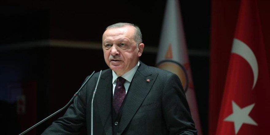 Erdoğan, AK Parti milletvekilleriyle bir araya geldi