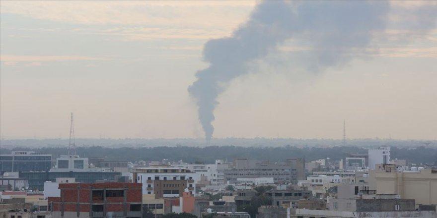 UMH askeri güçleri Trablus'un güneyindeki 11 Hafter mevzisini vurdu