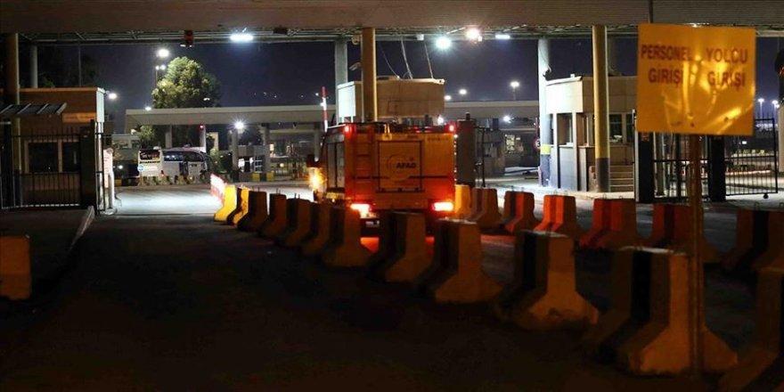 Türkiye ile Irak arasındaki kara sınır kapıları geçici olarak kapatıldı