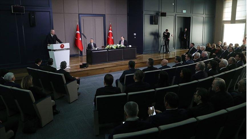 Cumhurbaşkanı Erdoğan: Türkiye'yi kuşatma peşinde olanlara fırsat vermeyeceğiz