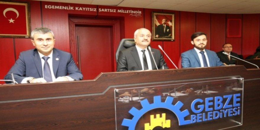 Gebze Belediyesi Meclisi bugün toplanıyor