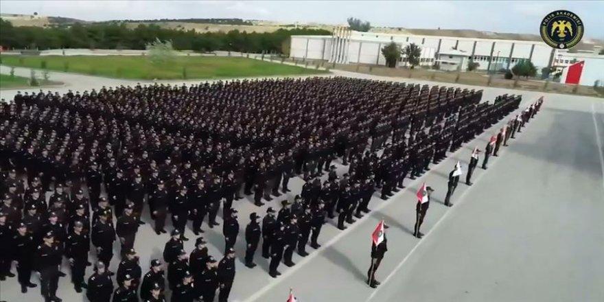 Polis Akademisi öğrencileri İdlib şehitlerini andı