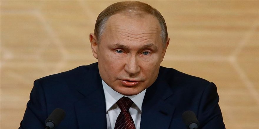 Rusya Devlet Başkanı Putin: Suriye'de hayatını kaybeden Türk askerleri için başsağlığı diliyorum