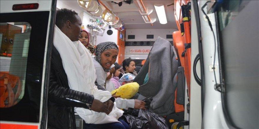 Didim'de 83 sığınmacı kurtarıldı