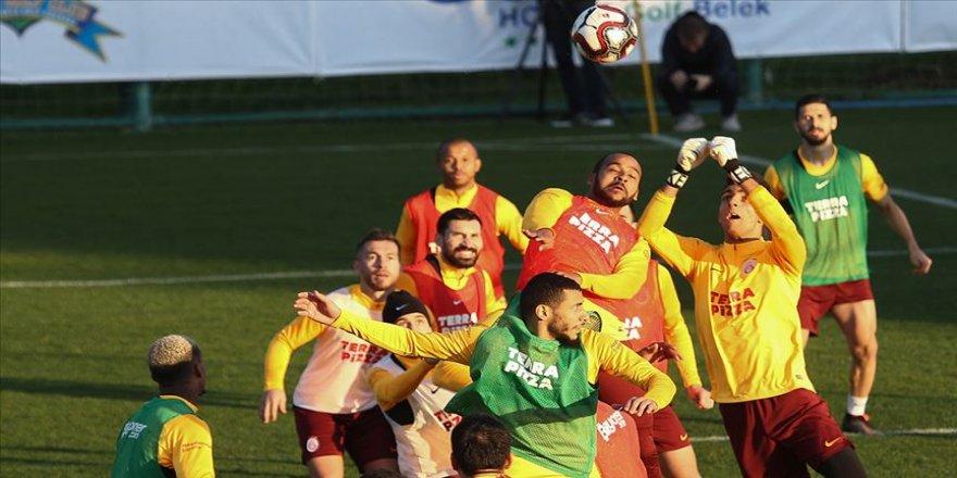 Galatasaray'da Beşiktaş derbisinin hazırlıkları başladı