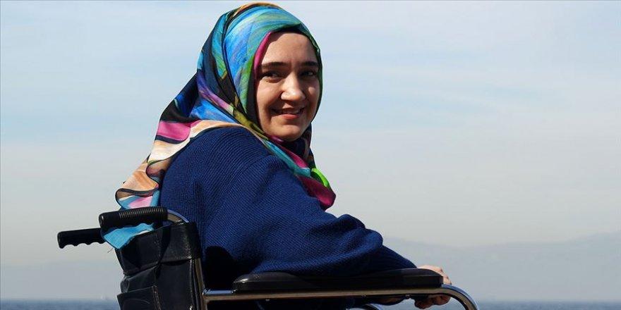 Ömrü nadir ortopedik hastalığıyla mücadele ederek geçiyor