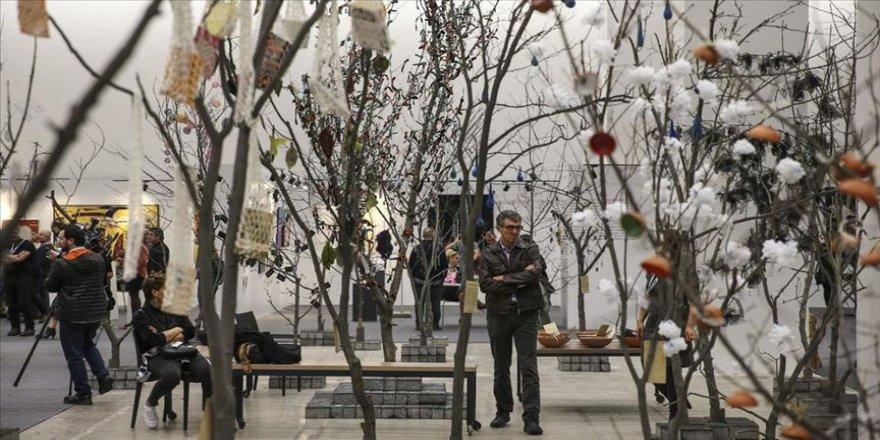 ArtAnkara'da dilek ağacı ormanı kuruldu