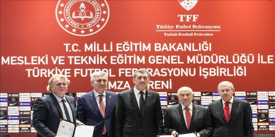 MEB ile TFF arasında TFF Hakem Meslek Lisesi protokolü imzalandı