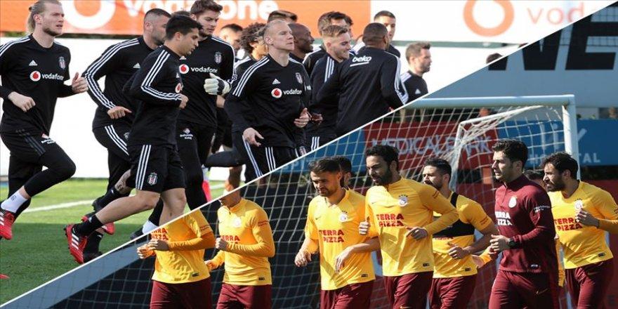 Galatasaray ve Beşiktaş'ta derbi hazırlıkları sürüyor