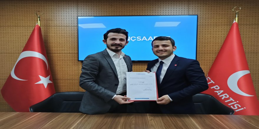 Saadet Partisi İzmit Gençlik Kolları Başkanlığına Murat BOZTÜRK atandı.