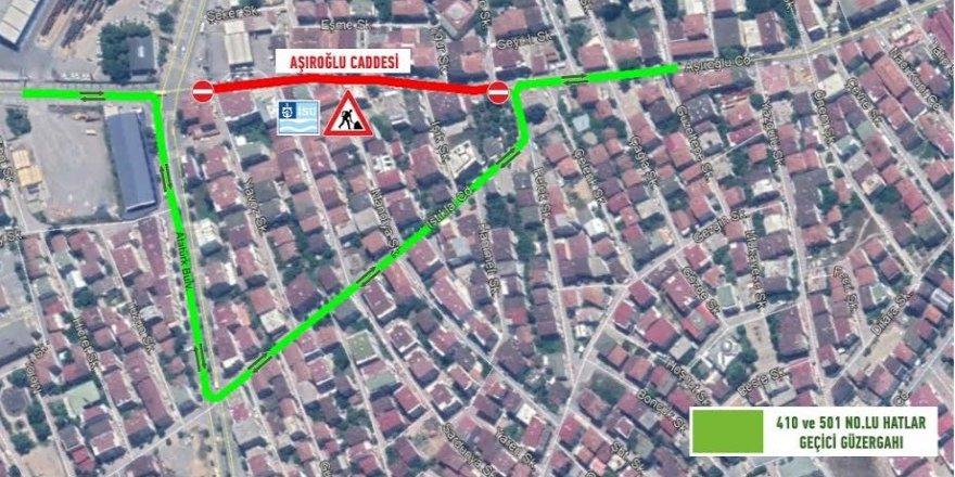 Darıca'nın 'O' Caddesi'ne geçici trafik düzenlemesi