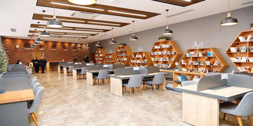 10 Bin Kitaplı Millet Kıraathanesi ve Çocuk Kütüphanesi Açıldı