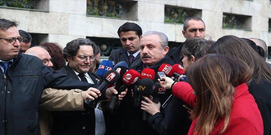 TBMM Başkanı Şentop: Meclisin tatil edilmesi gruplarımızın değerlendirmesiyle söz konusu olabilir