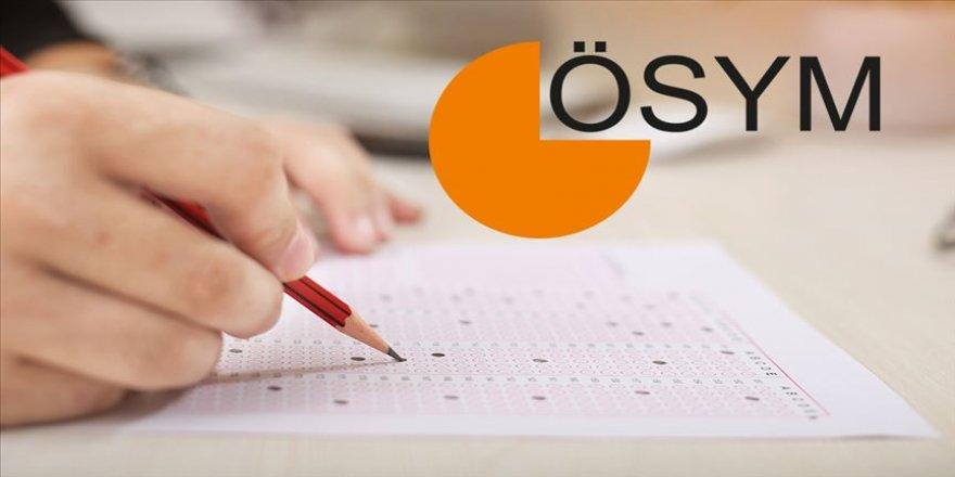 ÖSYM 9 sınavın tarihini güncelledi