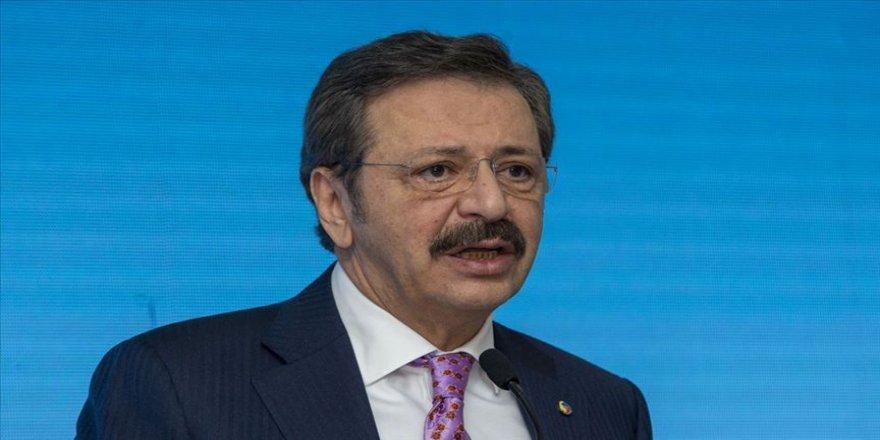 TOBB Başkanı Hisarcıklıoğlu, Kovid-19'dan etkilenen işletmelere çağrı yaptı