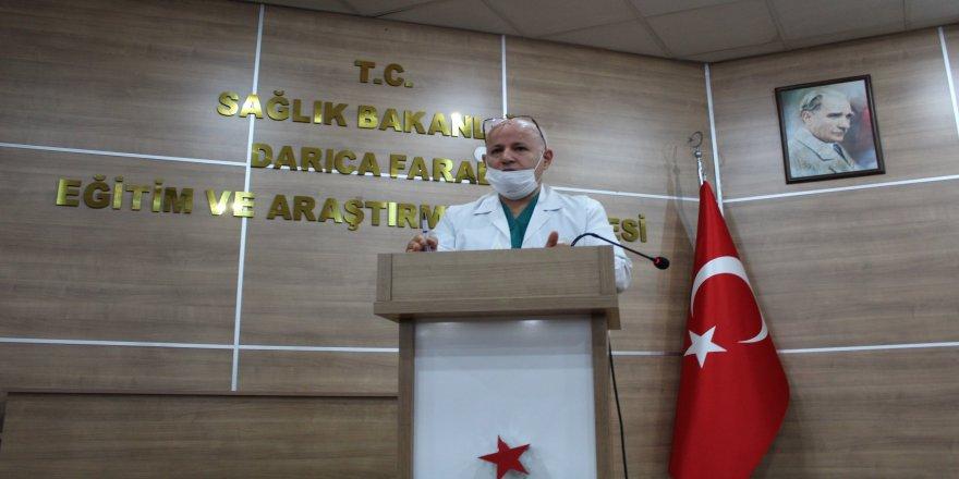 Darıca Farabi Hastanesinde Pandemi Toplantısı