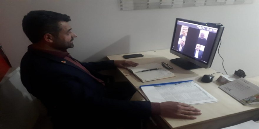 Darıca Saadet'te  E-Toplantı