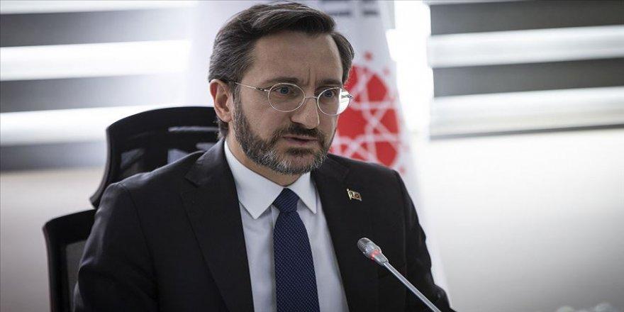 İletişim Başkanı Altun'dan koronavirüsle uluslararası mücadele mesajı