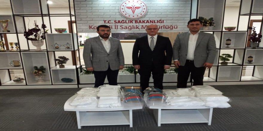 Kocaeli'de üretilen 3D koronavirüs maskelerinin ilk etabı İl Sağlık Müdürlüğü'ne teslim edildi.