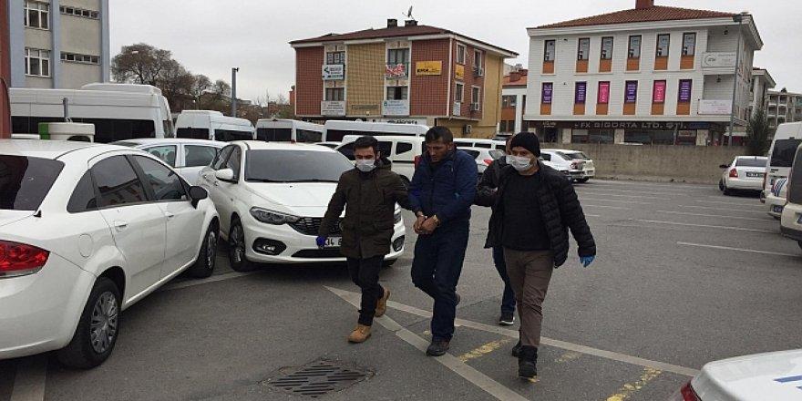 Gebze'de   gasp yapan zanlı tutuklandı!