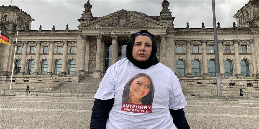 Almanya'da Maide T, terör örgütü PKK tarafından kaçırılan kızını geri istiyor