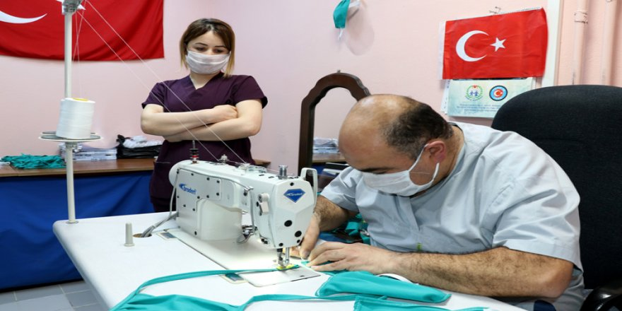 Üniversite hastanesinden yüz koruma siperi ve özel kabinli sedye üretimi