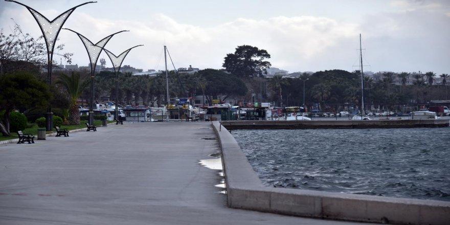 Aliağa Belediyesi:Sahil kenarlarında yaşanan yoğunluğa İçişleri Bakanlığı müdahale etti
