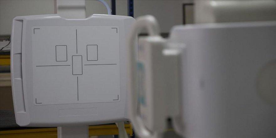 Yerli üretim röntgen makineleri göreve hazır
