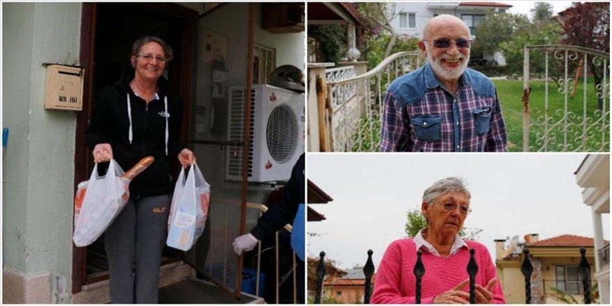 Muğla'daki yerleşik yabancılar koronavirüse karşı Türkiye'de kendilerini güvende hissediyor