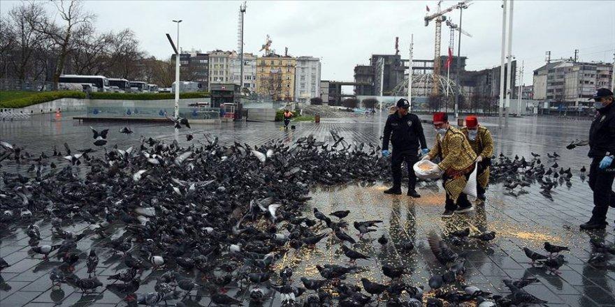 'Güvercinlerin ağabeyi' koronavirüs günlerinde kuşlarını unutmadı