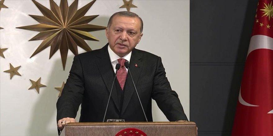 Cumhurbaşkanı Erdoğan 'Millete Sesleniş' konuşması yapıyor