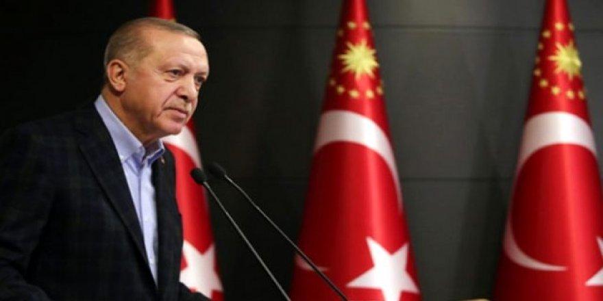 """Cumhurbaşkanı Erdoğan """"Milli Dayanışma Kampanyasına'' 7 aylık maaşını bağışladı"""