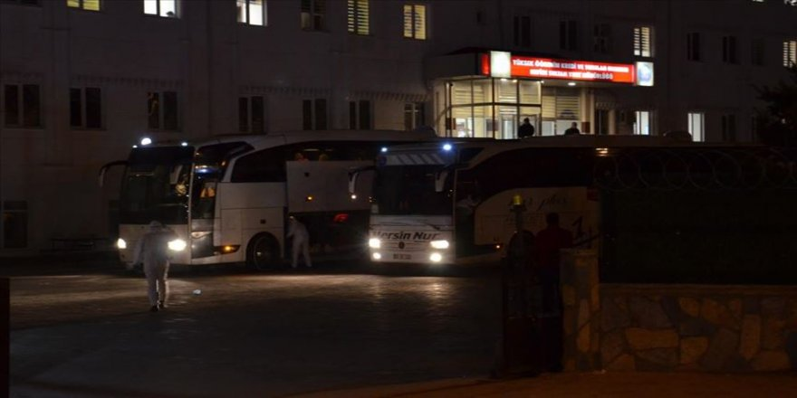 KKTC'den gelen 332 kişi Karaman'da yurda yerleştirildi