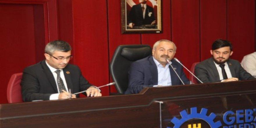 Gebze Belediye Meclisi Olağan Üstü Toplanacak