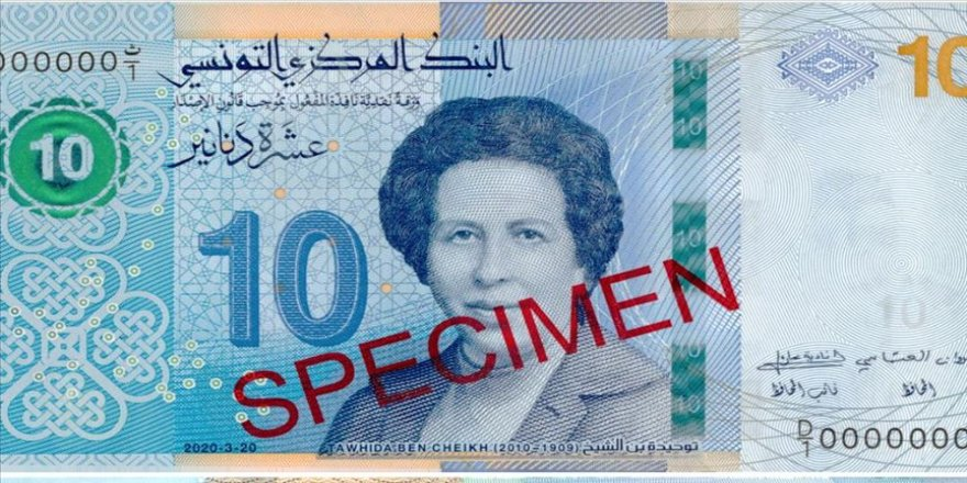 Tunus ilk kadın doktorunun fotoğrafını banknota bastı
