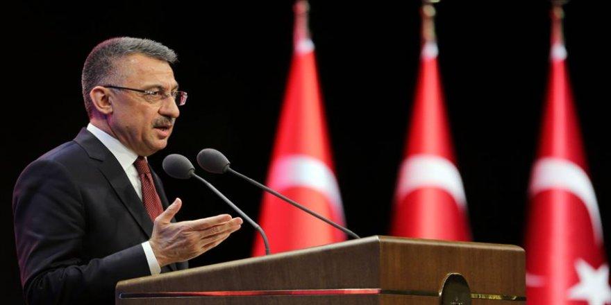 Cumhurbaşkanı Yardımcısı Oktay: Milli Dayanışma Kampanyası dayanışmamızı gösteren bir semboldür