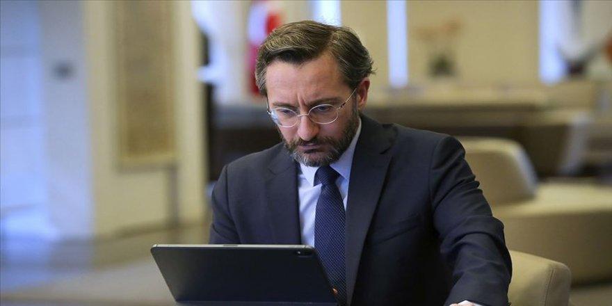 İletişim Başkanı Altun 'Milli Dayanışma Kampanyası'na destek için CİMER'e gönderilen mesajları paylaştı