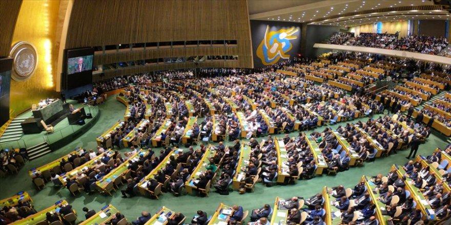 Kovid-19'a karşı küresel dayanışma kararı BM Genel Kurulu'nda kabul edildi