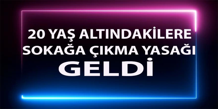"""Erdoğan,""""20 yaş altındakilere sokağa çıkma yasağı getiriyoruz"""""""