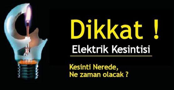 İstanbul'un Anadolu Yakasında ,11 İlçesinde Elektrik Kesintisi Yapılacak