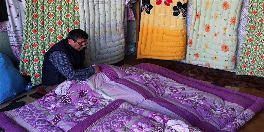 'Şaban usta'nın rengarenk yorganlar dikerek geçen ömrü