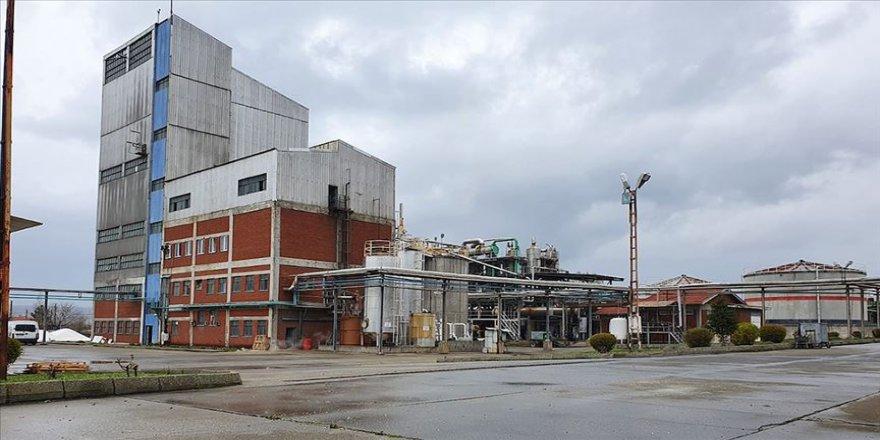 14 yıl atıl kalan etil alkol fabrikası Kovid-19 salgınında imdada yetişti