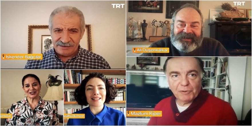 TRT Radyo Tiyatrosu sanatçılarından 'Evde kal Türkiye' çağrısı
